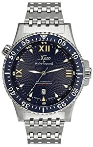 Xezo for unite4 good mens air commando professional pilot diver automatic watch for Xezo watches