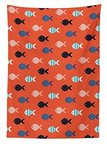 vipsung Decoración de Coral Mantel diseño de Peces náutico mar Marino Underwater Criatura Animal Acuario Formas...