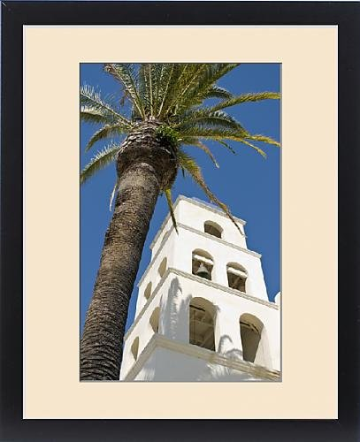 Framed Print of North America, California, San Diego. San Diego is the site of the first by Fine Art Storehouse