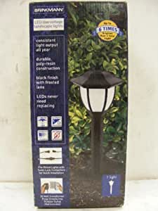 Brinkmann Coach LED landscape low voltage Pathway Lighting 8428030106 (4 lights)