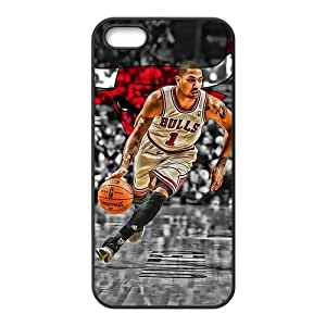 Diy Case for iPhone 5,5S ,Derrick Rose Customized case Fashion Style UN843570