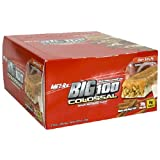 MET-Rx Big 100 Colossal Meal Replacement Bar, Crispy Apple Pie, 12 Bars, 3.52 Ounces, Health Care Stuffs