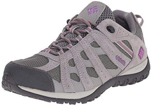 Columbia Women's Redmond Waterproof Hiking Shoe Charcoal, Razzle 8.5 B US