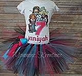 Monster High Birthday Tutu,Monster High Birthday, Monster Girls Shirt