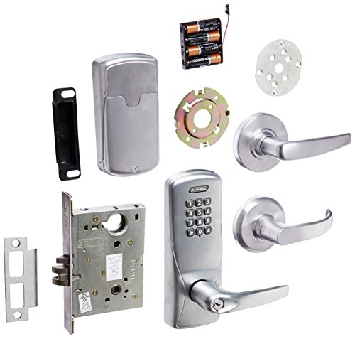 Schlage Co100 Ms70kp Ath 626 Electronics Security Lock