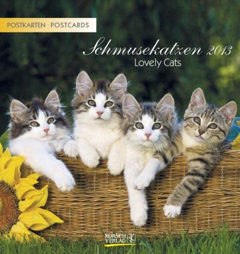 Schmusekatzen 2013. Postkartenkalender