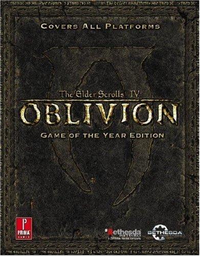 elder scrolls iv oblivion game of the year prima official 読書
