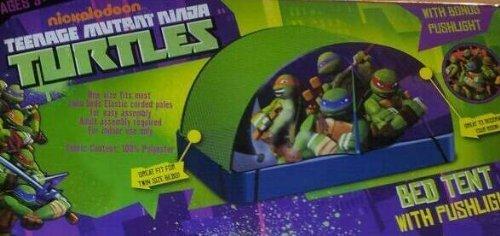 Save  sc 1 st  Desertcart & Nickelodeon Teenage Mutant Ninja Turtles Bed Tent with Pushlight ...