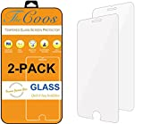 TheCoos [2-Pack] iPhone 8 7 6s 6 Screen Protector, Tempered Glass Screen Protector For Apple iPhone 8 iPhone 7 iPhone 6s iPhone 6