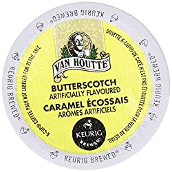 Van Houtte FLAVORED Coffee * BUTTERSCOTCH Caramel * Light Roast – includes 24 K-Cups for Keurig Brewers