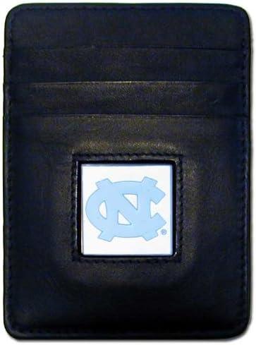 NCAA North Carolina Tar Heels Leather Bi-fold Wallet