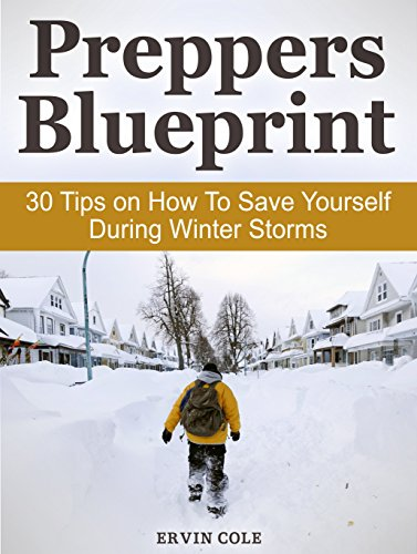 Preppers Blueprint: 30 Tips on How To Save Yourself During Winter Storms (Preppers Blueprint, Preppers Blueprint books, Prepper) by [Cole, Ervin]