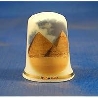 Porcelana China helero dedal de pirámides de Egipto