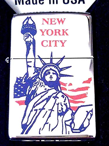 Zippo Lighter 250 Flag Statue Nyc ()
