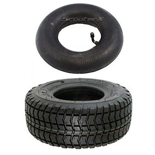 9x3.50x4 Tire and 3.00x4 Inner Tube COMBO - Commonly Used for Gas Scooters, Pocket Bikes, Mini Choppers, Go Karts, and More! [3207] + [3110]