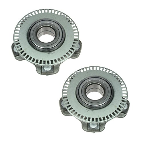 Front Wheel Bearing & Hub Assembly Pair Set for 01-06 Chevy Suzuki