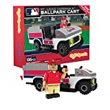 MLB St. Louis Cardinals Buildable Ballpark Cart, Small, White