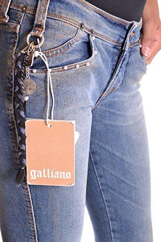 Mcbi130036o Galliano Jeans Donna Cotone Blu wXZARxOq