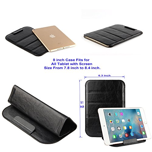 Stand Able Universal Cases with Fortune Tech Fold-Stand function fit for Screen Size: 6 in, 7 in, 8 in, 9.7 in, 10.1 in, 12.9 in Devices: HP, Dell, Ipad, Etc, - Predator Youtube 2