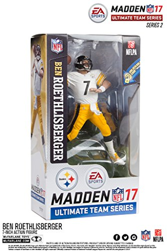 McFarlane Ben Rothlisberger Madden NFL 17 Ultimate Team Series 2 Figurine - Pittsburgh Steelers