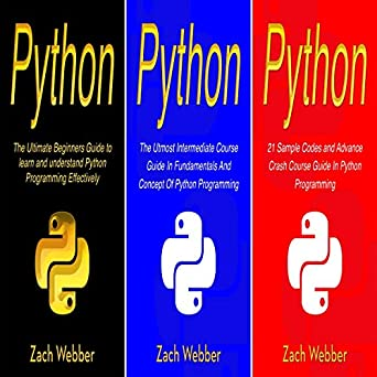 Amazon com: Python: The Complete 3 Books in 1 for Beginners