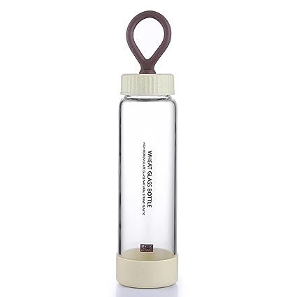 oneisall sb17031 250 ml paja taza de fácil de cristal, hecho con ...