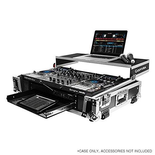 Odyssey FZGSMCX8000W2 | Flight Zone DJ Controller Case fo...