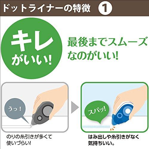 Kokuyo Tepe Glue Dot Liner -Refill Photo #5