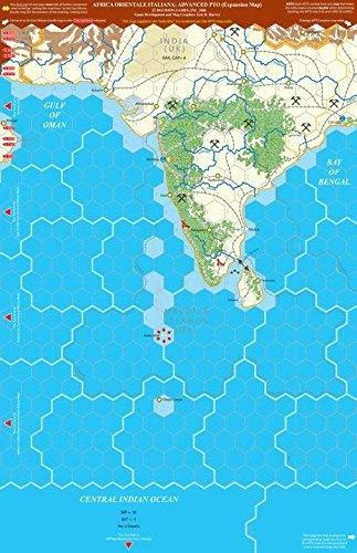 World War II Decision Games Advanced European Theater of Operations - Africa Orientale Italiana