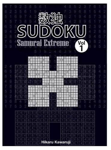 image relating to Samurai Sudoku Printable named Samurai Sudoku Extraordinary: 101 Puzzles video games (Traditional, Difficult