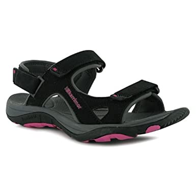 a1d9dca5fa800 Karrimor Womens Antibes Ladies Sandals Summer Walking Shoes Footwear Black  UK 4
