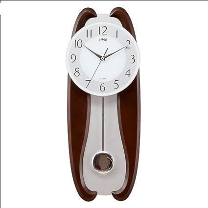 SJMM Europeo di legno di lusso orologi da parete soggiorno orologio ...