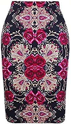 ERLIZHINIAN Flor de la Moda Rosas Rojas Mujer de impresión en ...