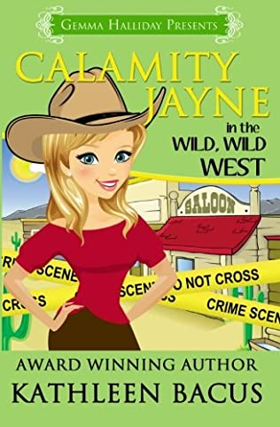 book cover of Calamity Jayne Heads West