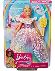 MATTEL GFR45 Barbie Dreamtopia Royal Ball Princess Doll,Multi