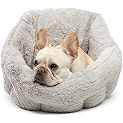 Best Friends by Sheri Deep Dish Cuddler in Lux, Gray, One Size