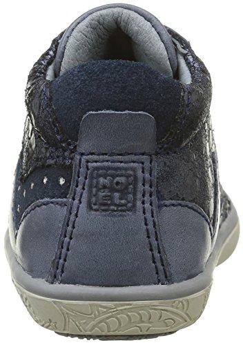 Noël Mini Asia - Zapatos de primeros pasos Bebé-Niños Azul - Bleu (69 Bleu)