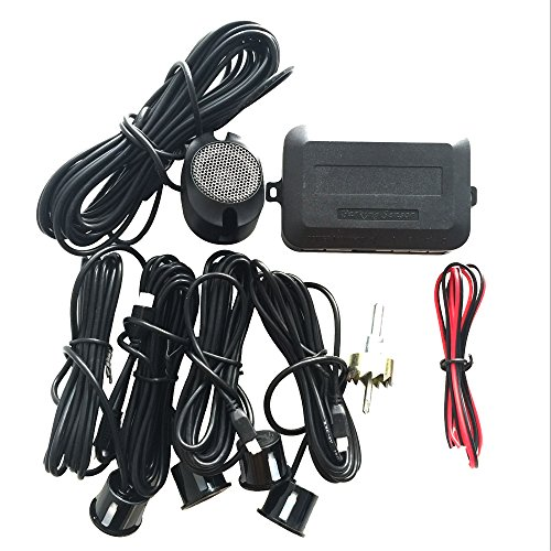 Geartist (TM) GTS8500B Car Parking Sensor Kit Reverse Backup Radar Sound Alert + 4pcs Waterproof Rear Sensors (GTS8500B)