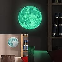 Lua Fluorescente Adesivo Brilha Glow Teto Parede