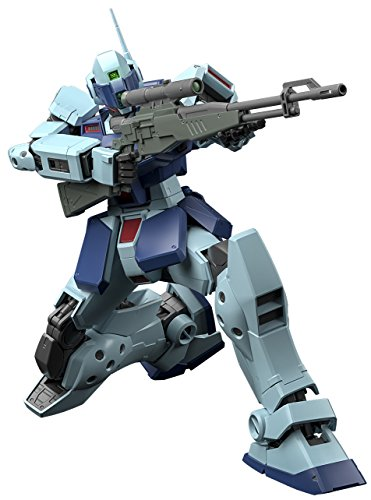 Bandai Hobby MG 1/100 GM Sniper II Gundam 0080 Action -