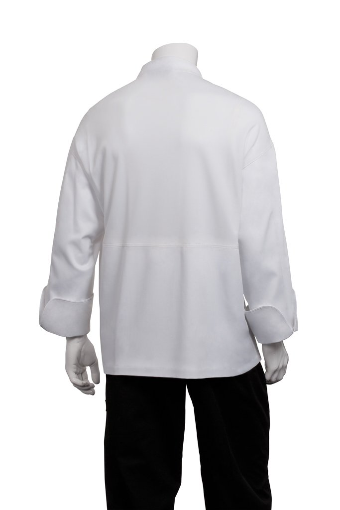 Bata de chef/cocinero, con aberturas para transpiración, color blanco, PCDF-WHT-3XL: Amazon.es: Bricolaje y herramientas