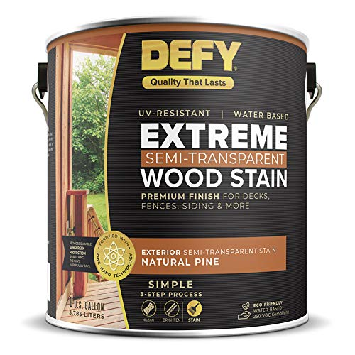 Defy Extreme Wood Stain Natural Pine 1-gallon