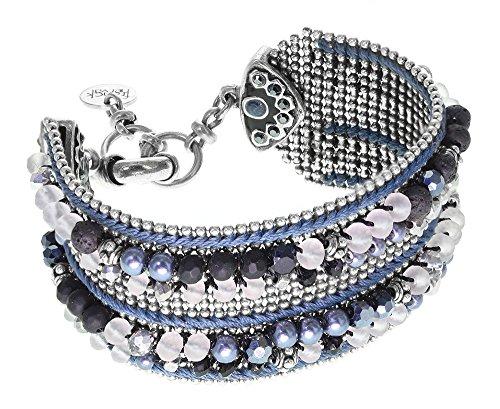 Amy : Bracelet perles tissées - Franck Herval