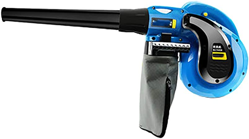 Soplador y aspiradora de jardín, soplador de mano eléctrico Colector de polvo de vacío, soplador de