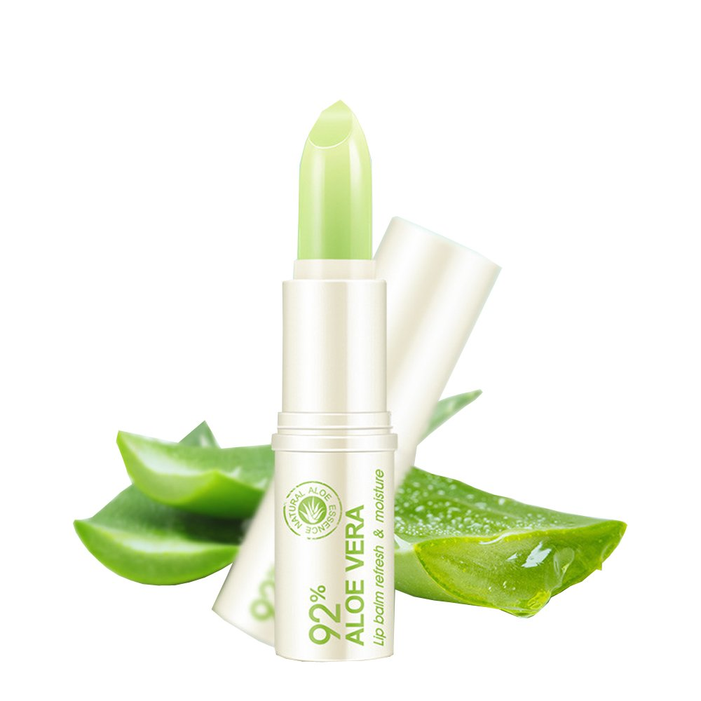 100% Natural Moisturizing Lip Balm Aloe Vera & Vitamin E Beeswax Chapstick for Baby Child Adult Women Men