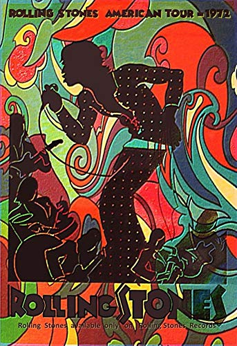 Rolling Stones - American Tour 1972 - Poster 13x19