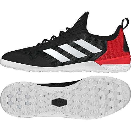Adidas Ace Tango 17.1 In, Chaussures de Soccer Intérieur Homme, Noir (Negbas/Ftwbla/Rojo), 40 EU