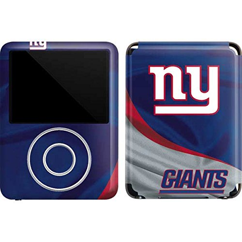 NFL New York Giants iPod Nano (3rd Gen) 4GB&8GB Skin - New York Giants Vinyl Decal Skin For Your iPod Nano (3rd Gen) (Apple Ipod Nano 4 Gb Accessories)