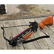 Unlimited Wares 150-LB Wood Hunting Crossbow FPS-210