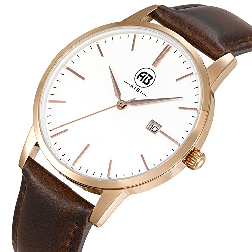 White Face Leather Strap - 1